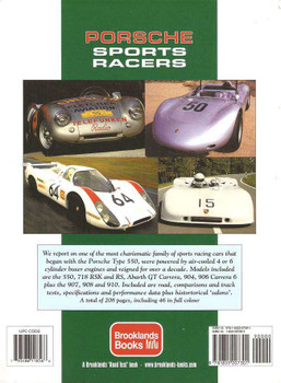 Porsche Sports Racers Ultimate Portfolio 1952 - 1968