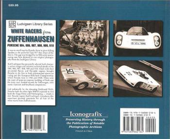 White racers From Zuffenhausen: Porsche 904, 906, 907, 908, 909, 910