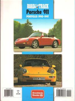 Road & Track Porsche 911 Portfolio 1990 - 1997