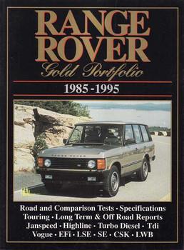 Range Rover Gold Portfolio 1985 - 1995