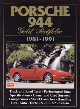 Porsche 944 Gold Portfolio 1981 - 1991