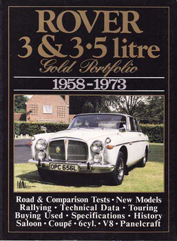 Rover 3 and 3.5 Litre Gold Portfolio 1958 - 1973
