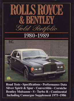 Rolls-Royce & Bentley Gold Portfolio 1980 - 1989