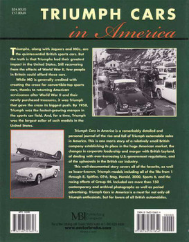 Triumph Cars In America