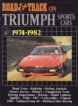 Road & Track On Triumph Sports Cars 1974 - 1982