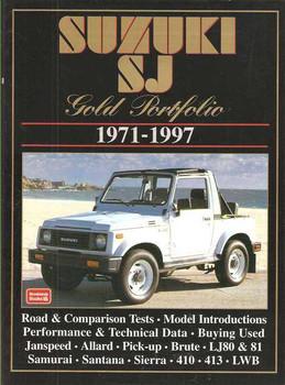 Suzuki SJ Gold Portfolio 1971 - 1997