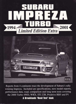 Subaru Impreza Turbo Limited Edition Extra 1994 - 2001