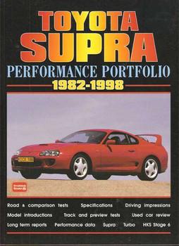 Toyota Supra Performance Portfolio 1982 - 1998
