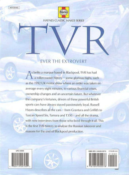 TVR Ever The Extrovert