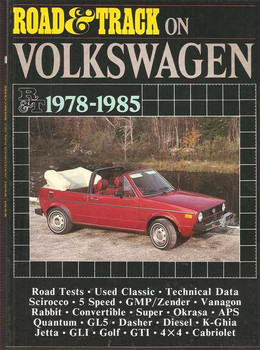 Road & Track On Volkswagen 1978 - 1985