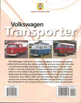 Volkswagen Transporter: Haynes Enthusiast Guide