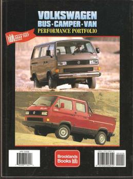 Volkswagen Bus, Camper, Van Performance Portfolio 1979 - 1991