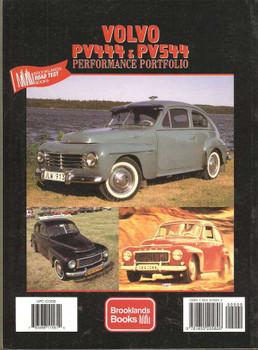 Volvo PV444, PV544 Performance Portfolio 1945 - 1965