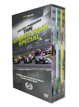 Racing Through Time: Grand Prix Special (3 DVD Box Set)