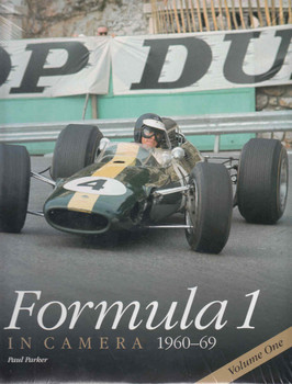 Formula 1 In Camera 1960 - 1969 Volume One (Reprint) (9780992876937) - front
