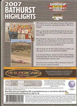 V8 Supercars Australia: Bathurst 2007 Highlights DVD