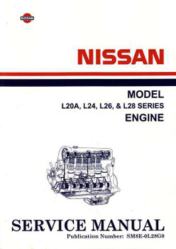 Nissan Model L20A, L24, L26, L28 Series Engine Workshop Manual