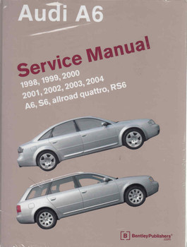 Audi A6, S6, Allroad Quattro, RS6 1998 - 2004 Service Manual - front