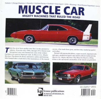 Muscle Car: Mighty Machines That Ruled The Road