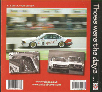 British Touring Car Racing: The Crowd's Favourite late 1960s to 1990