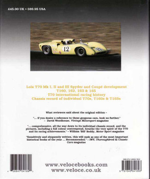 Lola T70: Racing History and Individual Chassis Record (4th Edition)