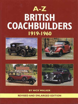 A - Z British Coachbuilders 1919 - 1960