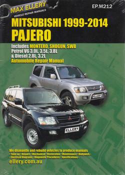 Mitsubishi Pajero Petrol V6 3.0, 3.5, 3.8 L , Diesel 2.8, 3.2 L 1999 - 2014 Workshop Manual