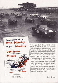 Davidstow: A History Of Cornwall's Formula 1 Race Circuit (Signed By The Author)