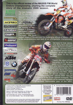 World Enduro Championship 2009 DVD