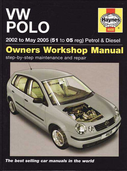 Volkswagen Polo 2002 to 2005 Workshop Manual