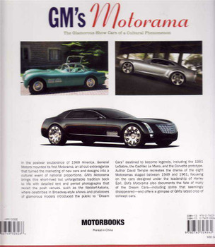 GM's Motorama: The Glamorous Show Cars of a Cultural Phenomenon
