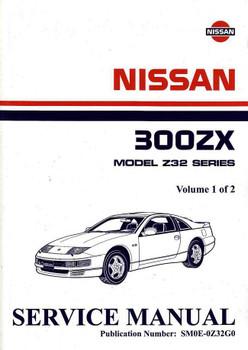 Nissan 300ZX Model Z32 Series Twin Turbo 1990 Onwards Workshop Manual