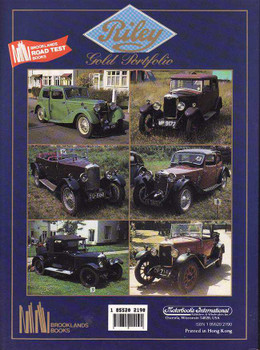 Riley Gold Portfolio 1924 - 1939