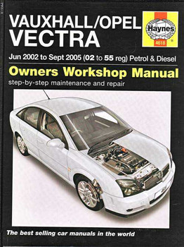 Holden Vectra 2002 - 2005 Workshop Manual