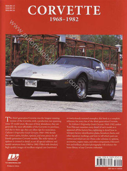 Corvette 1968 - 1982: Collector's Originality Guide