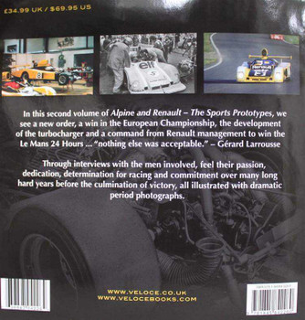 Alpine and Renault: The Sports Prototypes 1973 - 1978 (Vol. 2)