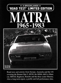 Matra 1965 - 1983 Road Tests