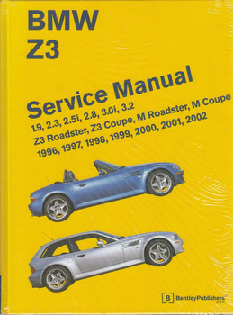 BMW Z3 Roadster, Z3 Coupe, M Roadster, M Coupe 1996 - 2002 Workshop Manual