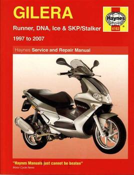 Gilera Runner, DNA, Ice and SKP/Stalker 1997 - 2007 Workshop Manual