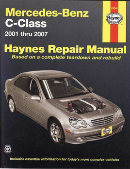 Mercedes - Benz C-Class 2001 - 2007 Workshop Manual