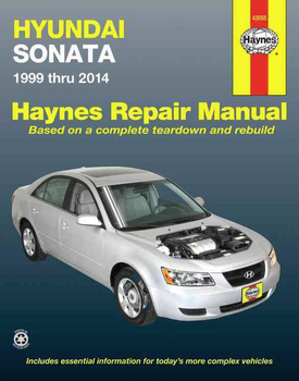 Hyundai Sonata 1999 - 2014 Workshop Manual (9781620920848)