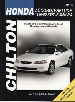 Honda Accord, Honda Prelude 1996 - 2000 Workshop Manual