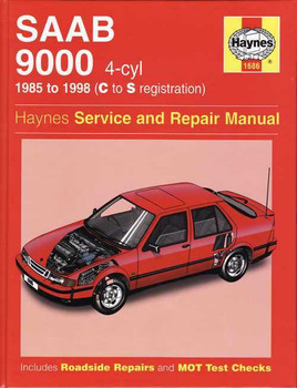 Saab 9000 4-cyl 1985 - 1998 Workshop Manual