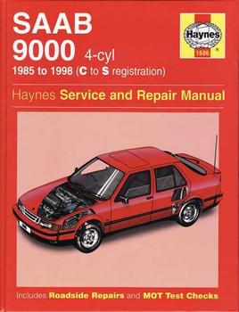Saab 9000 4-cyl 1985 - 1998 Workshop Manual