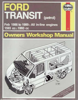 Ford Transit Petrol MK3 1986 - 1989 Workshop Manual