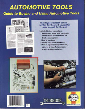 Automotive Tools Manual: Guide to Buying and Using Automotive Tools