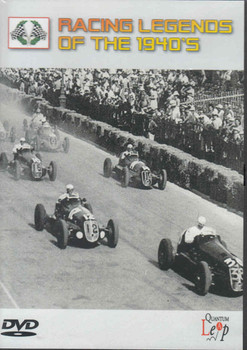 Racing Legends Of The 1940's DVD (5032711070565) - front