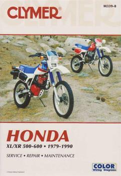 Honda XL / XR 500 - 600 1979 - 1990 Workshop Manual