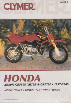 Honda XR50R, CRF50F, XR70R, CRF70F 1997 - 2009 Workshop Manual  - front