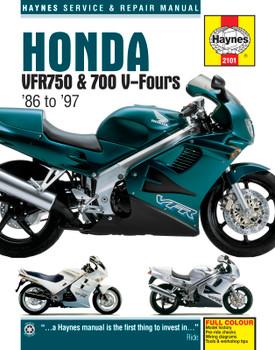 Honda VFR750 & 700 V-Fours (86 - 97) Haynes Repair Manual